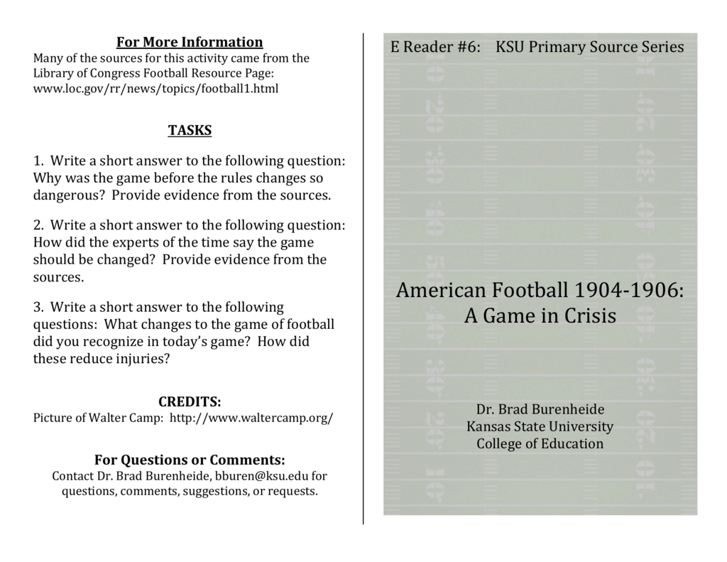 football topics to write about