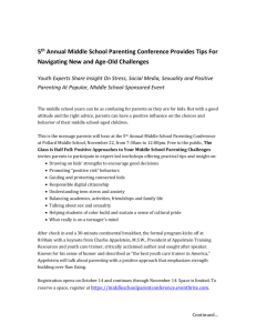 Middle School Parent Conf-PR-FINAL