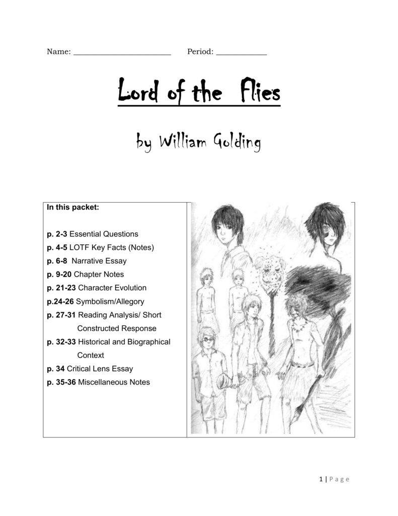 lord of the flies response