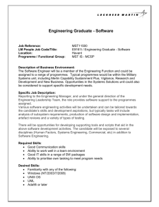 Engineering Graduate - Software