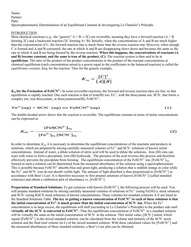 Lab 9- Spectrophotometric Determination of K