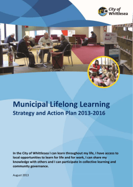 Municipal Lifelong Learning Strategy and Action