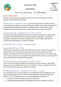 June/July Newsletter 2014 - Dickleburgh VC Primary School