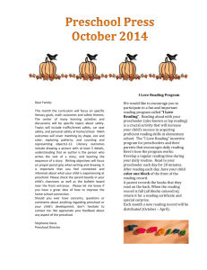 October 2014 ECC Newsletter