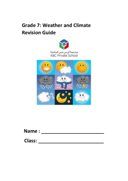 ckfinder/userfiles/files/Grade 7 Revision guide weather and climate