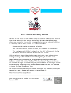 Public libraries and family services case study (Word