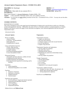 AAT H Syllabus Spring 2016 - Palisades School District
