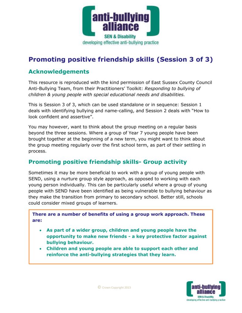 benefits of promoting positive behaviour in schools