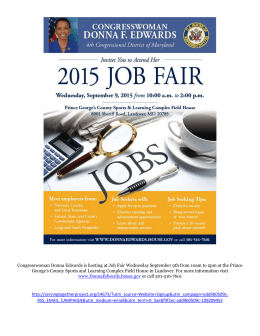 Job Fair- 9/9: Landover, MD