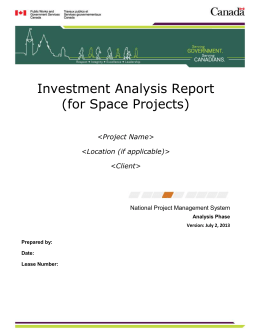 """Guide for the Preparation of Investment Analysis Reports""."