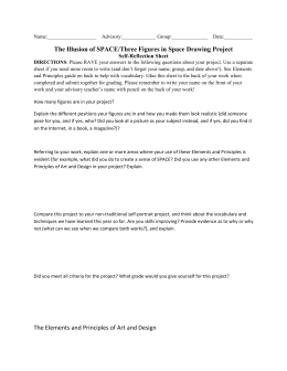 Link to Three Figures in Space project self reflection sheet
