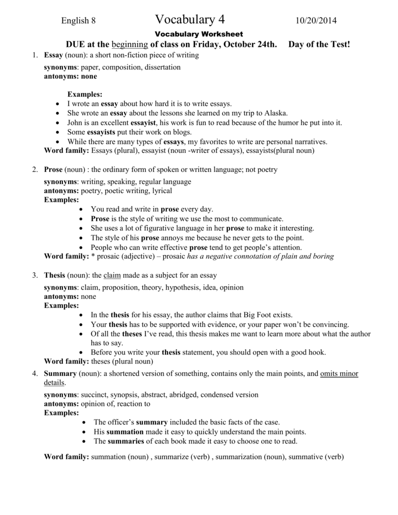 objective essay writing methodology sample