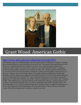 Grant Wood - TeacherWeb