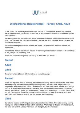 Interpersonal-Relationships