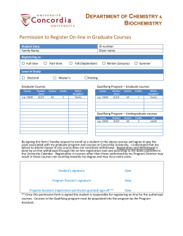 Graduate registration forms are available online