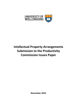 Submission 54 - University of Wollongong