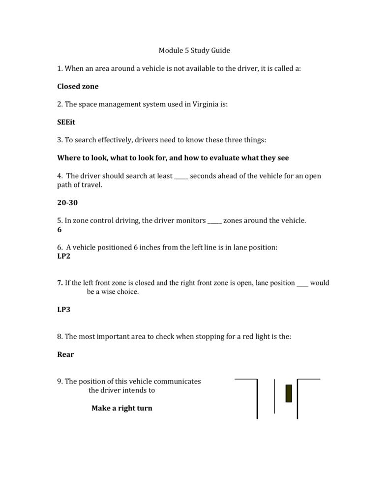Module 5 Study Guide answers