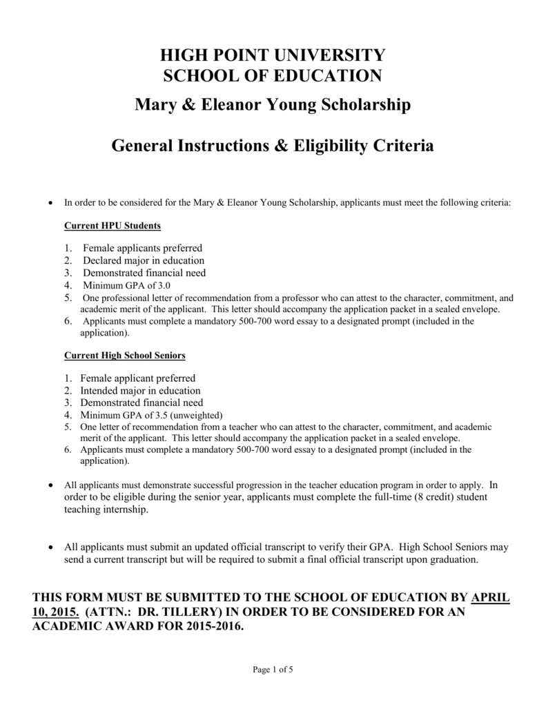 fsu young scholars program college confidential