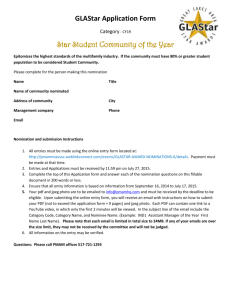 Star Student Community of the Year