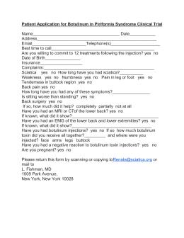 UK BOTOX Consent Form