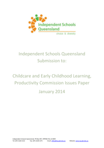 Independent Schools of Queensland