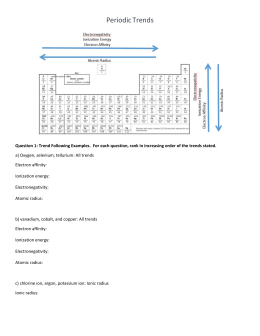 periodic trends worksheet answers. Black Bedroom Furniture Sets. Home Design Ideas