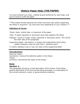 sophomore english research paper A research paper should have a topic that interests the writer and readers also, the topic should be about something that has a large availability of outside sources, but the topic can't be.