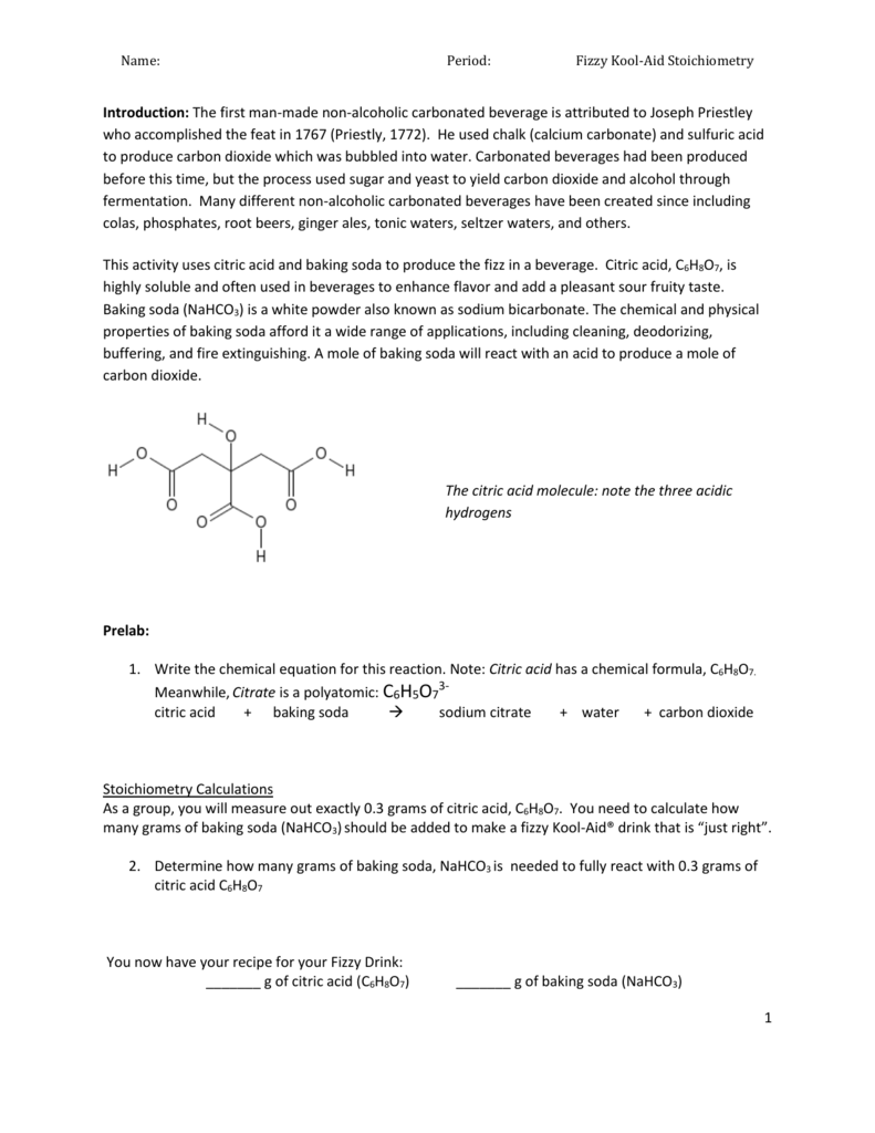 water and citric acid essay Citric acid is a key intermediate in metabolism it is an acid compound found in citrus fruits the salts of citric acid (citrates) can be used as anticoagulants due to their calcium chelating ability.