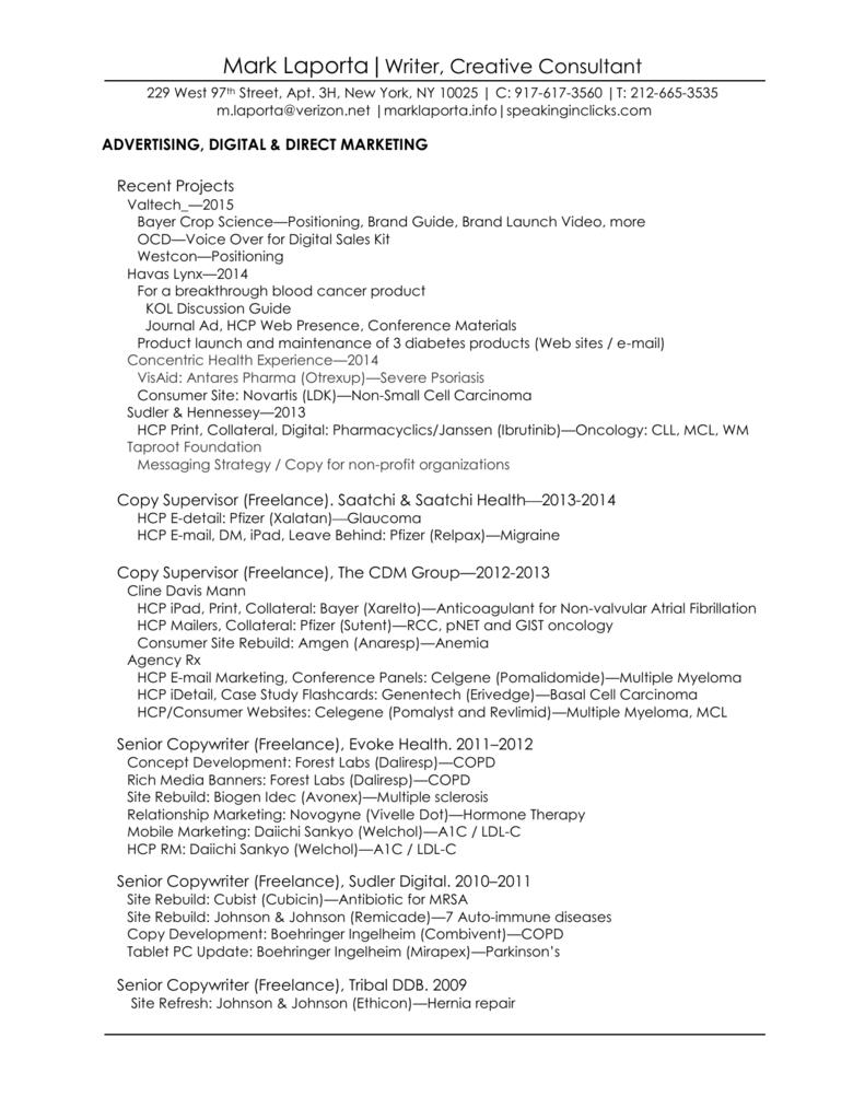 Resume Marklaporta Info