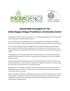 Sustainable Strategies for the Delta Kappa Omega Providence
