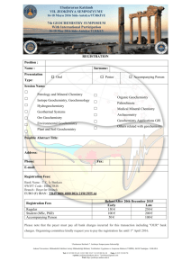 registration form - 7. Jeokimya Sempozyumu