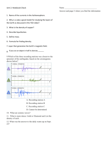 Unit 2: Notebook Check 1. Name of the currents in the