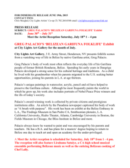 FOR IMMEDIATE RELEASE JUNE 19th, 2015