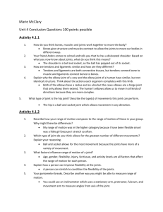 Unit Four Conclusion Questions