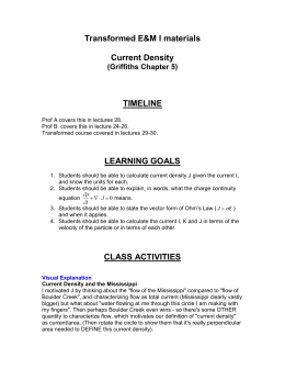 Activities-Current-D.. - University of Colorado Boulder
