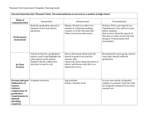 Thematic Unit Assessment Template: Planning Guide Essential