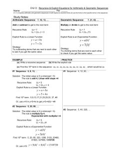 besides Grade Level Course  Alge 1 Activity Lesson Name  Search and additionally  as well Explicit Expressions and Recursive Processes Worksheets further  moreover Sequence and Series Syllabus and Hw besides  besides Recursive And Explicit Math Recursive Worksheet With also Using Recursive Rules for Arithmetic  Algeic   Geometric as well Arithmetic Recursive And Explicit Worksheets   Teaching Resources moreover  in addition Recursive Sequences Hand Out Related Keywords   Suggestions in addition Number Patterns likewise 930 Lesson 7 1 Exit Slip together with Recursive And Explicit s Worksheet   Free Printables Worksheet besides 4 Google ytics Goal Types That Are Critical To Your Business. on arithmetic recursive and explicit worksheet