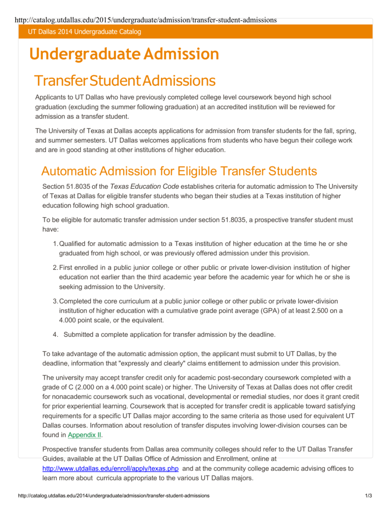 ut admissions essay requirements coursework