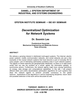 Seminar-Lee_Soomin - USC - Viterbi School of Engineering