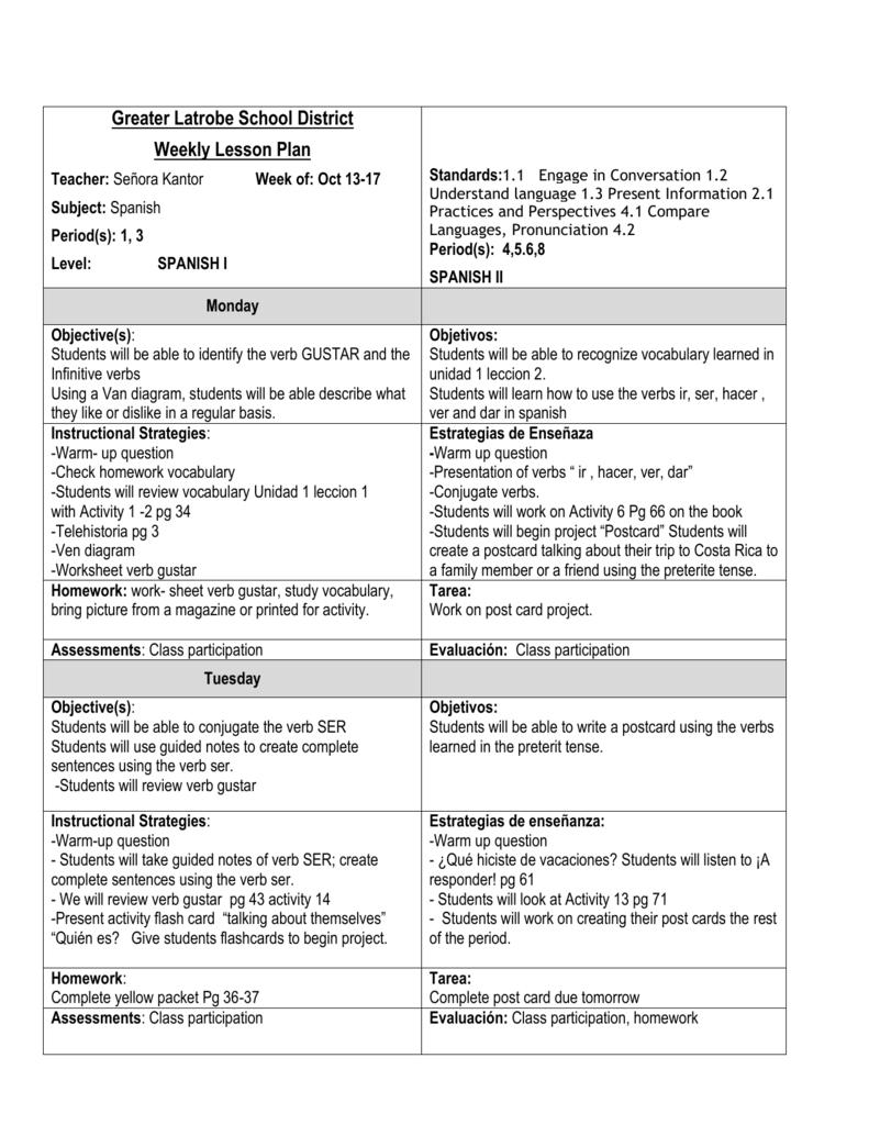 Worksheets Gustar Worksheet students will take a vocabulary unidad 1 leccion verb gustar verb