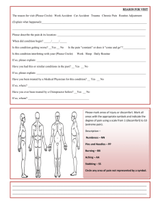 Confidential Patient Health Record (Page 2)