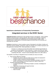 Submission DR677 - Bestchance Child Family Care