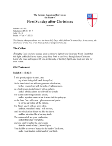 Word Document - The Lectionary Page