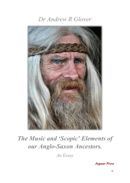 Saxon Musical Worlds