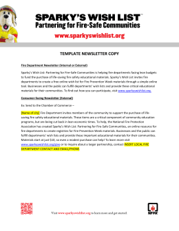 template newsletter copy