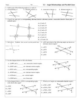 Review 31 32 35 22 angle relationships and parallel lines ccuart Choice Image