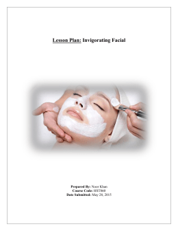 Invigorating Facial