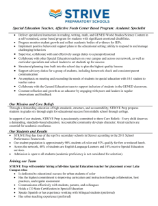 Executive Summary - Denver Public Schools