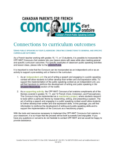 7- Curriculum connections (English).