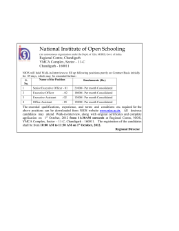 National Institute of Open Schooling (An autonomous organization